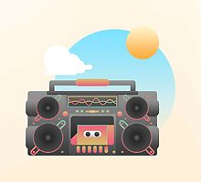 Boombox Days by moremo