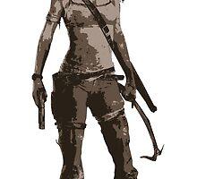 Minimalist Lara Croft by 4xUlt