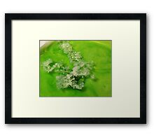 Wax on Water Framed Print