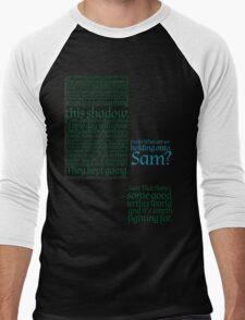 The Two Towers-- Sam's Speech Men's Baseball ¾ T-Shirt