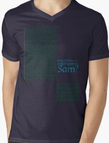 The Two Towers-- Sam's Speech Mens V-Neck T-Shirt