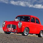 Red 1955 Ford Prefect by John Jovic