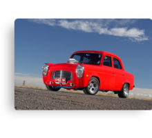 Red 1955 Ford Prefect Canvas Print