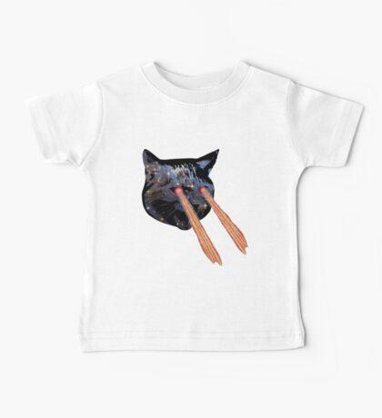 Lazer Cat Baby Tee