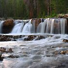 River Falls Panorama by David Kocherhans