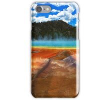 Yellowstone's Grand Prismatic Spring iPhone Case/Skin