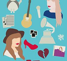 Taylor Swift Collage by whoviandrea