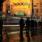 Flinders Street Station by Louise Wolfers