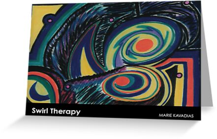 Swirl Therapy by Marie Kavadias