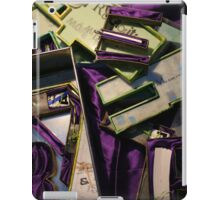 Jeux de Construction - Building's Games - part I - Artist's Book iPad Case/Skin