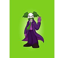 Dr. Wily Joker Photographic Print