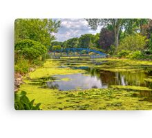 Lakeside Park Lagoon-2 Canvas Print