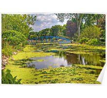 Lakeside Park Lagoon-2 Poster