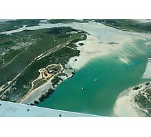 Aerial view of Willie Creek Photographic Print