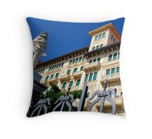 "City Life - ""Balconies, Windows, Shutters"" p.6 Throw Pillow"