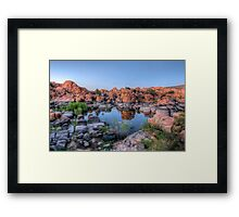 Watson Cove Framed Print