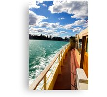 Manly Ferry Canvas Print