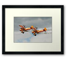 Breitling Wing walking display team Framed Print