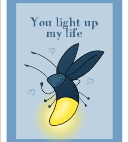 Love Bug - Firefly Sticker