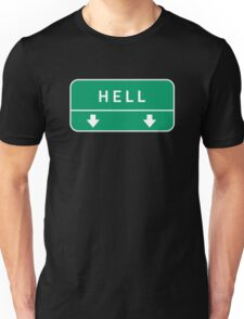 Highway to hell Unisex T-Shirt