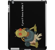Rick and Morty: I Just Love Killin' iPhone/Samsung/iPad Case iPad Case/Skin