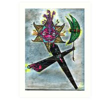 Pyerdeenmme - Indigenous Tasmanian Creation God Art Print