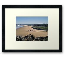 Boambee Beach Framed Print