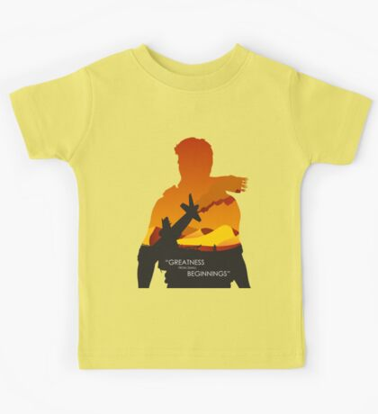 Greatness from small beginnings Kids Tee