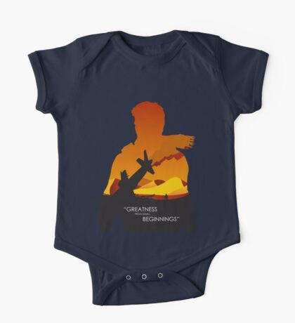 Greatness from small beginnings One Piece - Short Sleeve