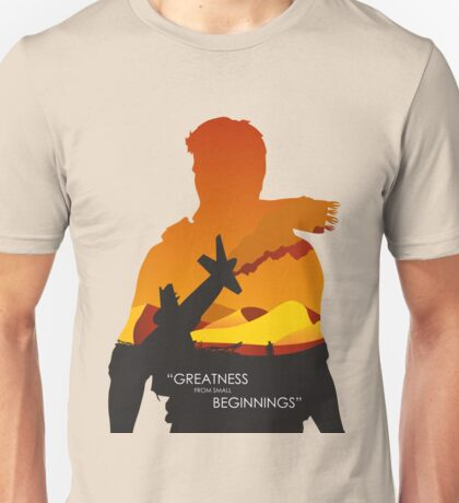 Greatness from small beginnings Unisex T-Shirt