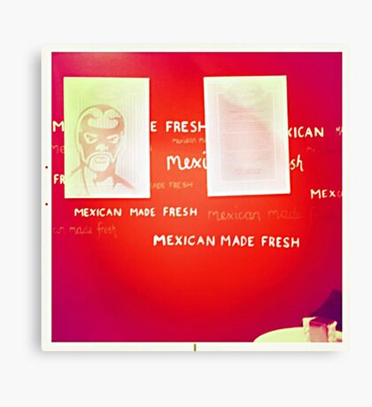 Mexican Made Fresh Canvas Print