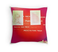 Mexican Made Fresh Throw Pillow