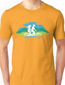 Tandem Bike Trip Unisex T-Shirt