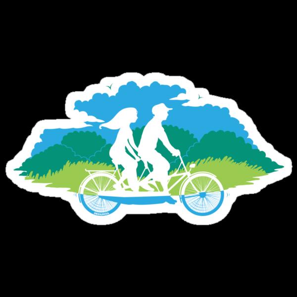 Tandem Bike Trip by oksancia