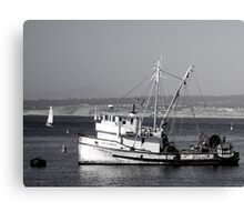 The Fishing Vessel San Giovanni Canvas Print
