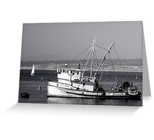 The Fishing Vessel San Giovanni Greeting Card
