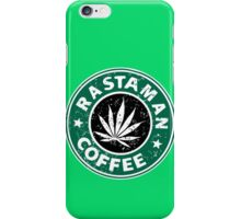 RASTAMAN COFFEE iPhone Case/Skin