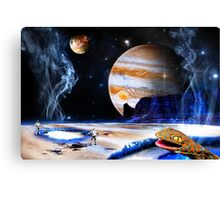 Amazing! Microbes! On Ganymede! Canvas Print