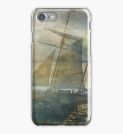 Sailing to the Moon iPhone Case/Skin