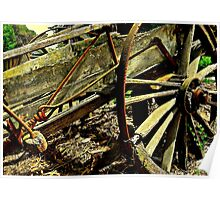 Gold Creek Wagon Poster