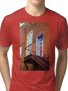 Jonesborough, Tenessee - Upstairs Neighbors Tri-blend T-Shirt