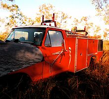 Fire Engine @ Innot Hot Springs by D. D.AMO