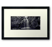Morialta Falls Framed Print