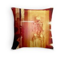 Skeletal Throw Pillow