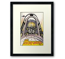 The Enemy Within  Framed Print