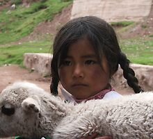 The Girl from Taquile by Meni