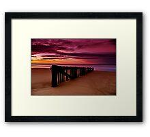 """""""Dawn Rhapsody"""" Framed Print"""