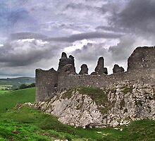 Carreg Cennen Castle by cjgough
