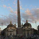 Piaza de popolo, Rome by Marius Brecher