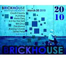 Brickhouse Dance Party Flyer Photographic Print